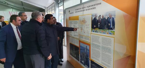 Dharmendra Pradhan Reviewed Oil & Gas Projects in Russian Far-East