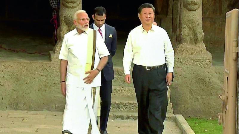 PM Modi Welcomed Xi Jingpin at Mamallapuram
