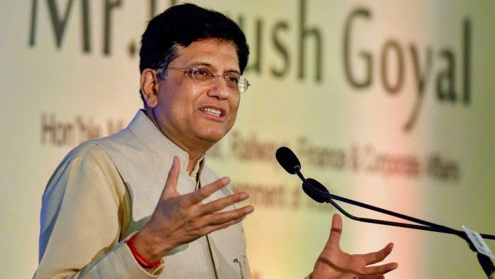 Piyush Goyal Registers Divisions to Uplift Exports