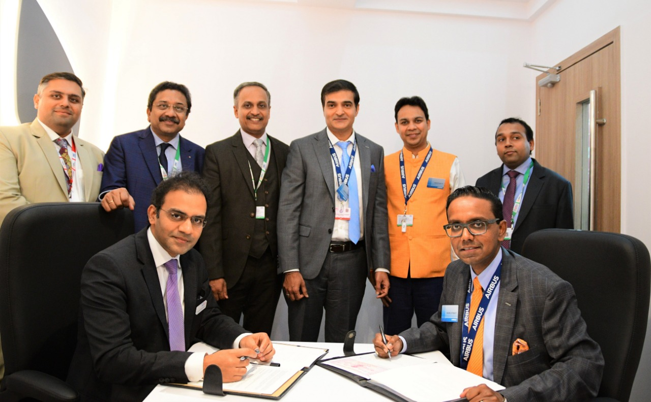 Airbus Signs Aircraft Services MoU with Adani Defence and Aerospace