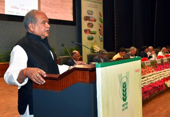 Narendra Singh Tomar Chairs 91st Annual General Meeting Of The ICAR Society