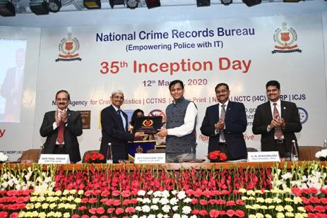 NCRB Celebrates 35th Inception Day And Launches Crime Multi Agency Centre And National Cybercrime Training Centre