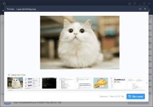EaseUS data recovery software screenshot