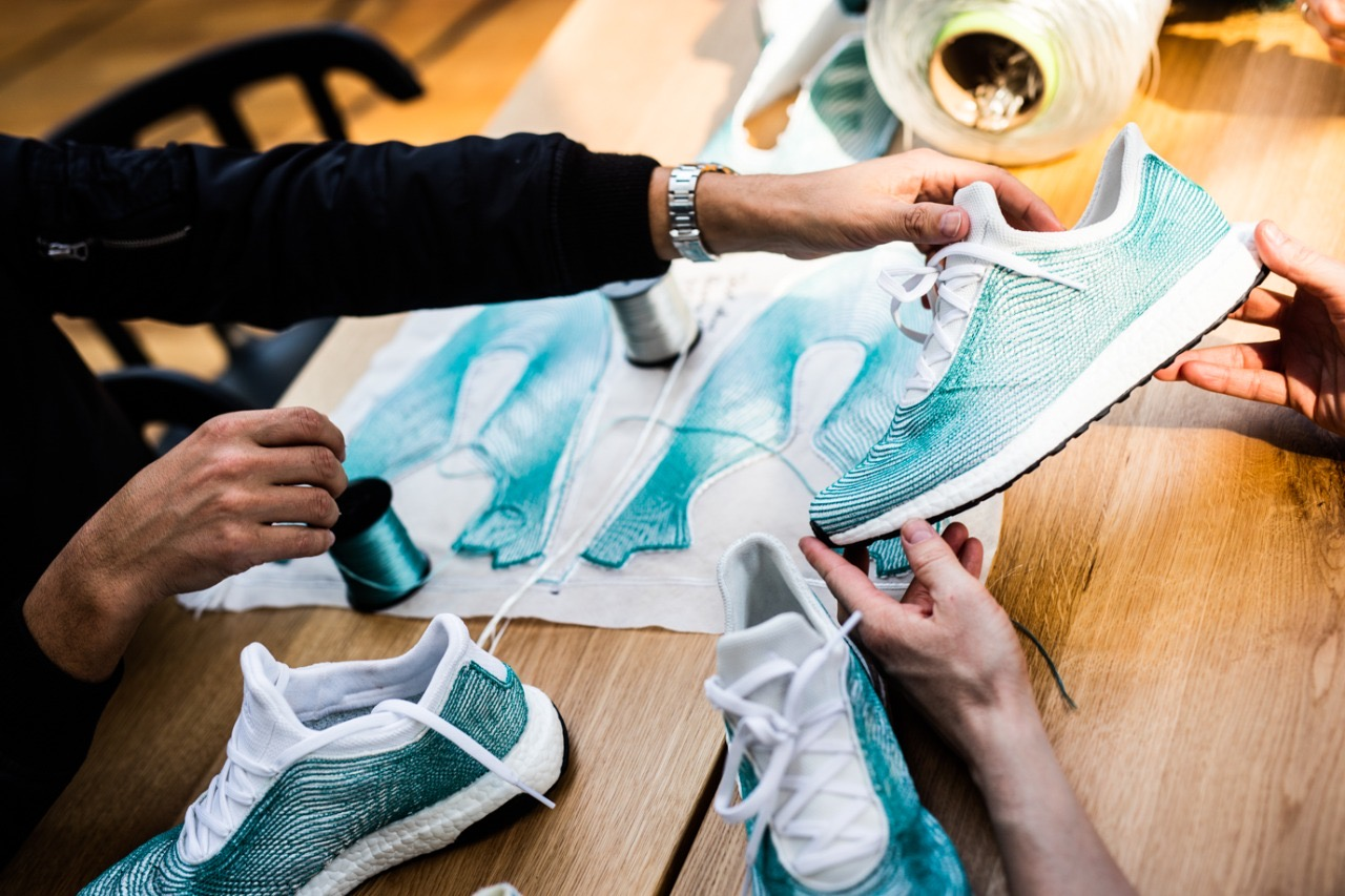 ADIDAS Plans to Use 100% Recycled Polyester For Making Shoes and Clothing By 2024