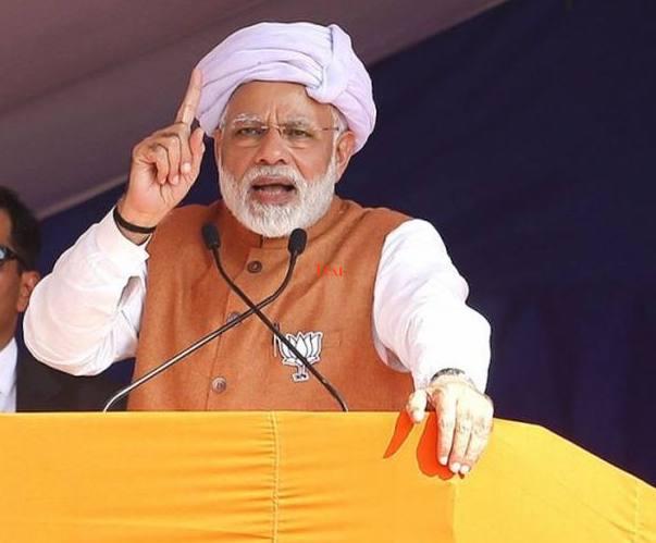 PM Modi Inaugurates Dynamic Lighting of Sardar Sarovar Dam