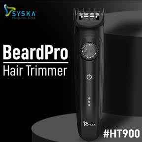 Syska Personal Care Introduces Innovative HT900 Beard Pro Hair Trimmer