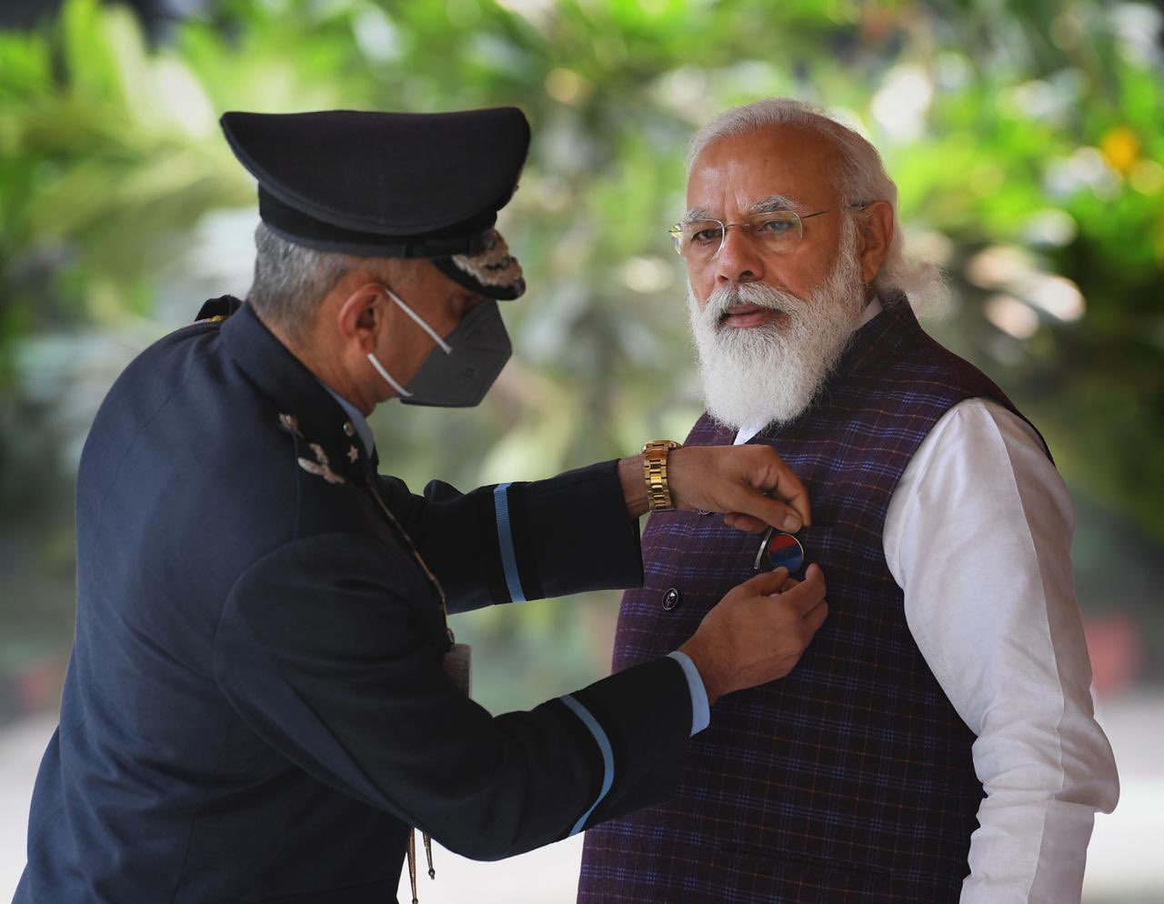 PM Modi Expresses Gratitude to Armed Forces on Flag Day