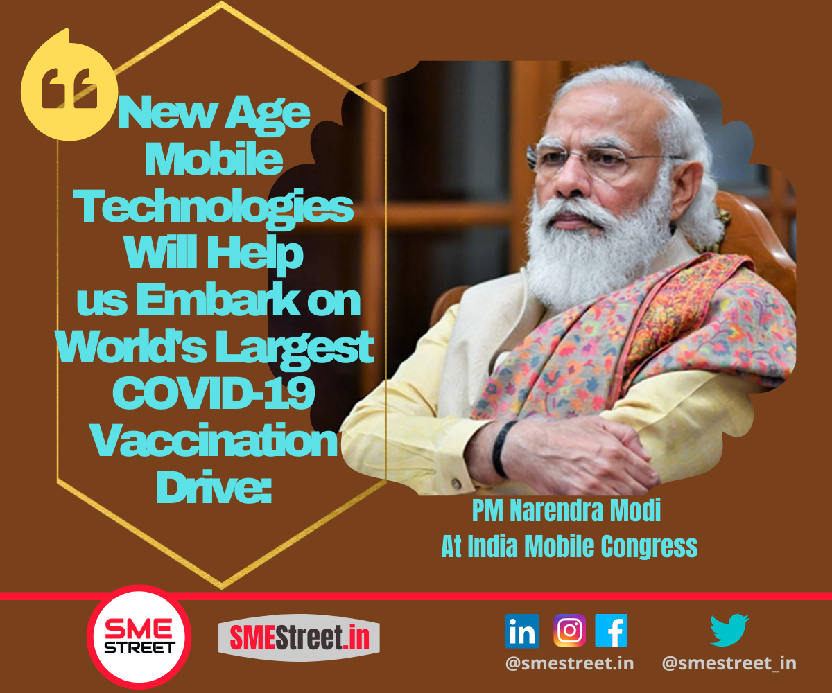 Every Village Will Have High-Speed Fibre Optic Connectivity in Next 3 Years: PM  Narendra Modi at India Mobile Congress 2020