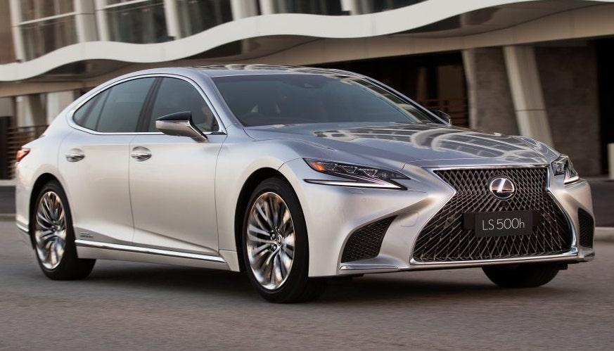 Lexus Premieres All-New Variant of Luxury Sedan LS 500h