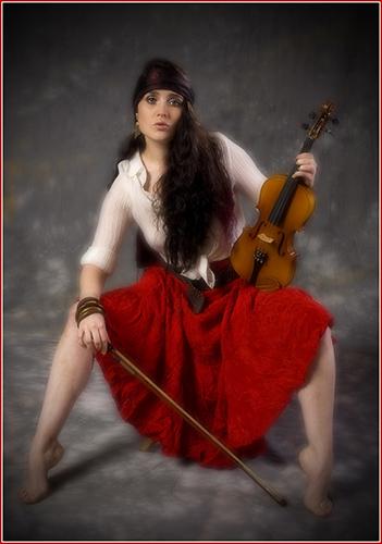 15 Romany Fiddler