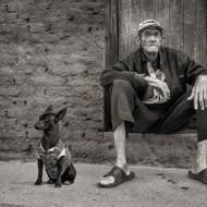 fiap ribbon-man and dog-adrian lines efiap mpagb-england