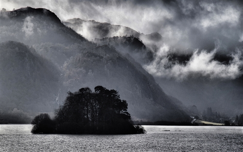 highly commended-storm over derwentwater-john holt