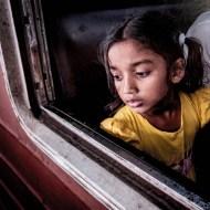 psa ribbon girl on train brian collins
