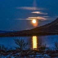 Moon Rise, Lofoton Islands-Richard Derek Wilbraham LRPS