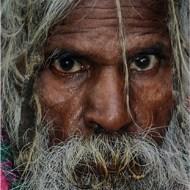 Street Man's Face-Van Greaves FRPS