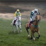 Two Horse Race-Len Pugh DPAGB