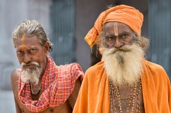 TWO HOLY MEN IN KERALA