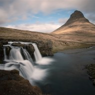 Third Kirkjufell Waterfall & Mountain No. 2 Arnaud Lenoir