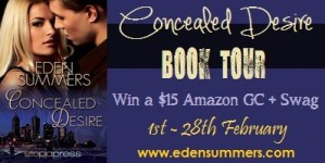Concealed Desire Book Tour