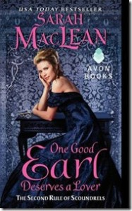 Review: One Good Earl Deserves a Lover by Sarah MacLean