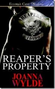 Smex Scene Sunday–Reaper's Property by Joanna Wylde
