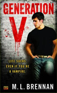 Review: Generation V by M.L. Brennan
