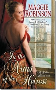 Review: In the Arms of the Heiress by Maggie Robinson