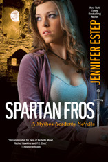 Review: Spartan Frost (Mythos Academy #4.5) & Midnight Frost (Mythos Academy #5) by Jennifer Estep