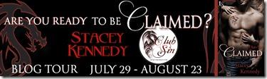 CLAIMED blog tour banner