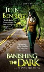 Review and Giveaway: Banishing The Dark by Jenn Bennett