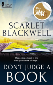 Review: Don't Judge a Book by Scarlet Blackwell