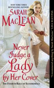 Review: Never Judge A Lady By Her Cover by Sarah MacLean