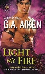 Review: Light My Fire by G.A. Aiken