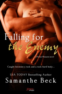 Falling for the Enemy (Private Pleasures #3) by Samanthe Beck