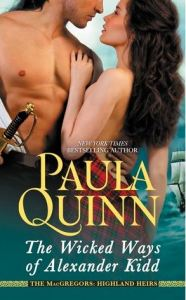 Review: The Wicked Ways of Alexander Kidd by Paula Quinn