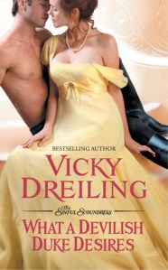 Review: What a Devilish Duke Desires by Vicky Dreiling