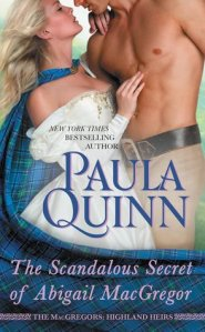 Review: The Scandalous Secret of Abigail MacGregor by Paula Quinn