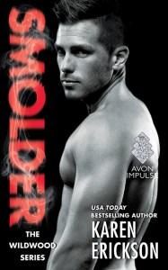 Cover Reveal for SMOLDER by Karen Erickson