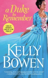Review: A Duke to Remember by Kelly Bowen