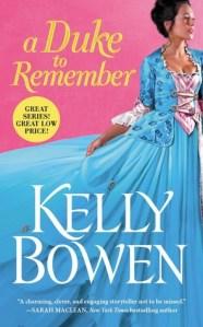 Review: A Duke to Remember by Kelly Bowen