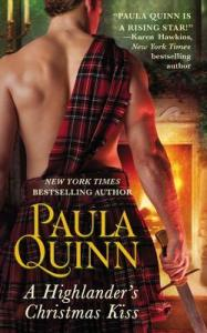 Review: A Highlander's Christmas Kiss by Paula Quinn