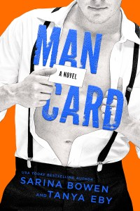 Cover Reveal!! MAN CARD by Sarina Bowen & Tanya Eby