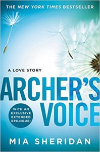 Excerpt from Archer's Voice by Mia Sheridan and a Giveaway of her upcoming release!