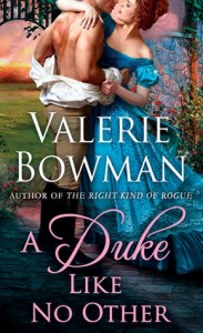 Review: A Duke Like No Other by Valerie Bowman