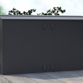 Outbox 5'x10' Secure Heavy Duty Metal Shed