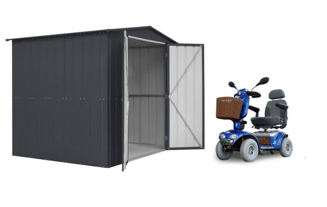 THE LOTUS SHED – IT ONLY GET'S BETTER! Garden Shed Range Landscaping Lotus Shed Range Metal Metal Garden Sheds Outdoor Storage Solutions SM Garden Sheds Uncategorized