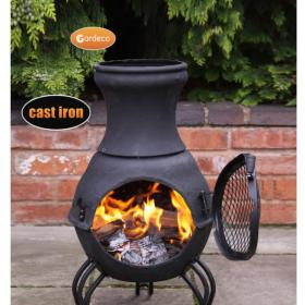 Gardeco Asador Parilla Clay BBQ and Fire Pit