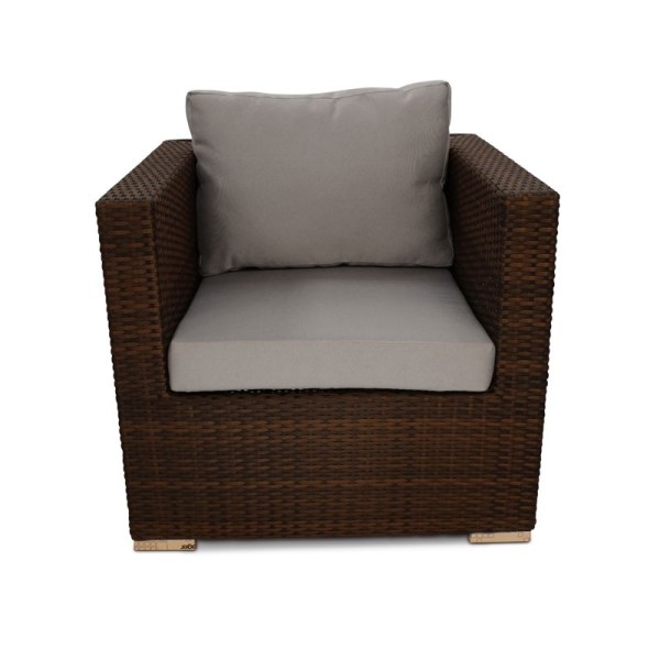SM Garden Sheds LeisureBench - Denby Rattan Sofa Chair