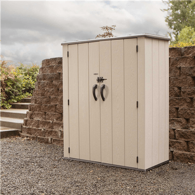 SM Garden Sheds Lifetime 4.5ft x 2ft Vertical Storage Shed - Display Model (Collection or Local Delivery)