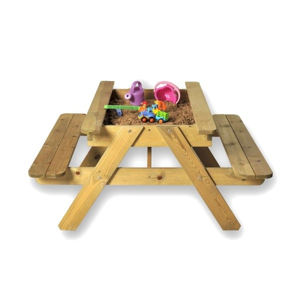 LeisureBench - Childrens Sandpit Picnic Table